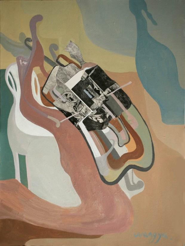 Qingdao Artist Wang Yu 隐形的翅膀系列之三