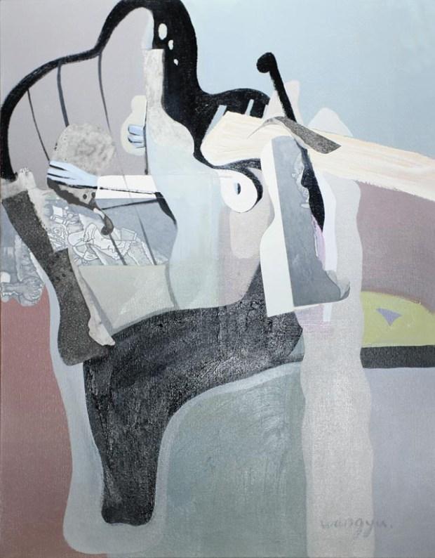 Qingdao Artist Wang Yu 隐形的翅膀系列之五