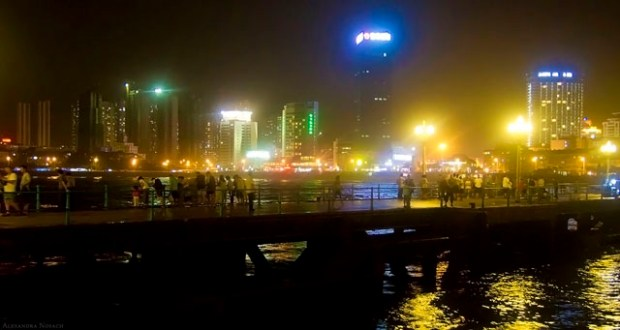Qingdao Photos Alexandra Nosach Night Water