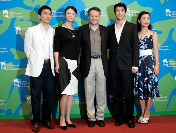 Ang Lee Tony Leung, Tang Wei, Leehom Wang and Joan Chen