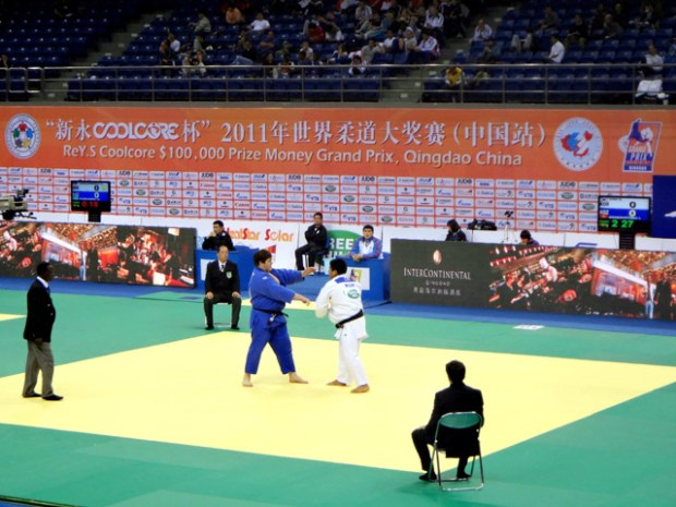 Qingdao Judo Grand Prix 2011 China Heavyweight