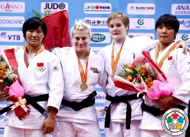 Qingdao Judo Grand Prix 2011 China Women's Medals