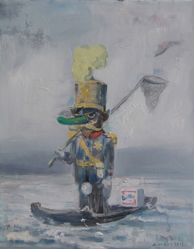 Qingdao Artist Zhu Xianwei Art China
