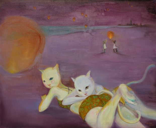 Li Lan New Youth Art Qingdao Cat Beach