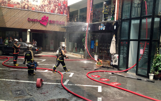 Qingdao Seen Firefighters Creative 100
