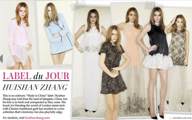 Made in Qingdao: Huishan Zhang Fashion Designer