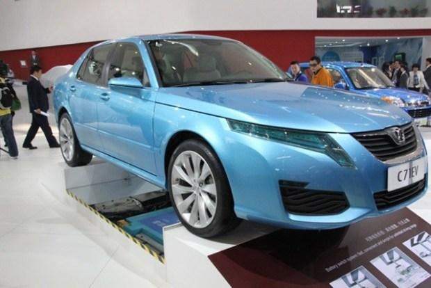Saab China EV