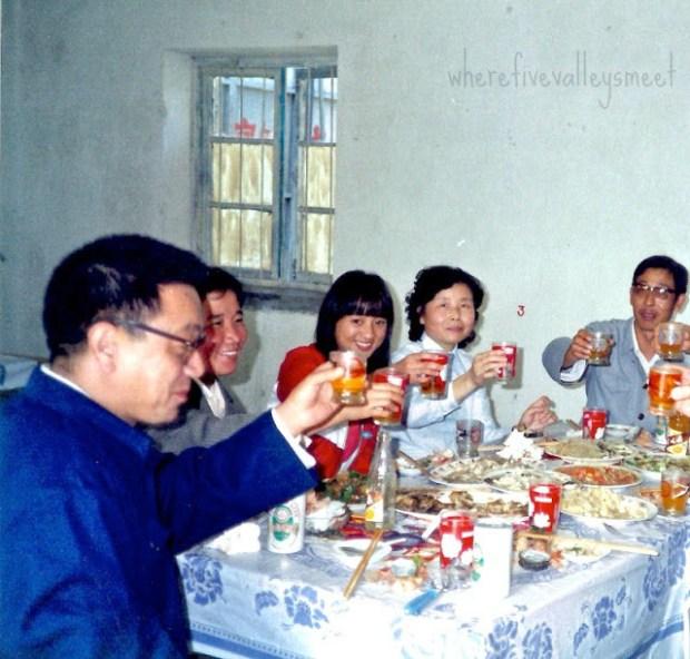 Qingdao Photos 1980s Laoshan Banquet