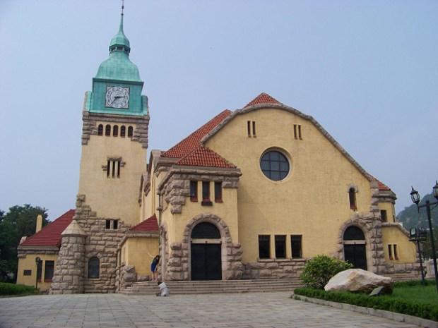 Qingdao Photos Teresa Lutheran Church Jiangsu Lu