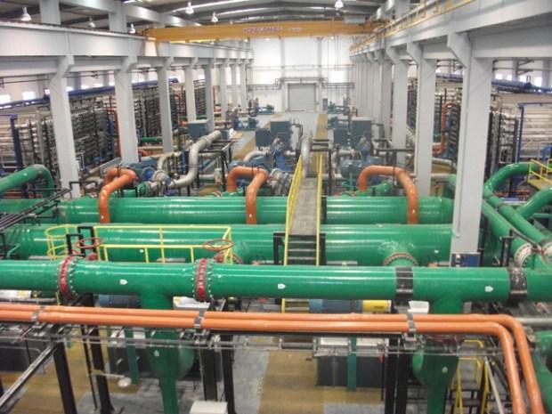 Qingdao Desalination Plant Abengoa Interior