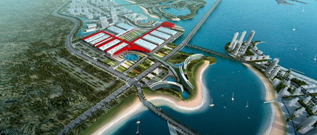 Qingdao Aoshan Bay Expo Center Water City