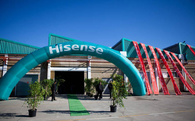Hisense Industrial Park South Africa