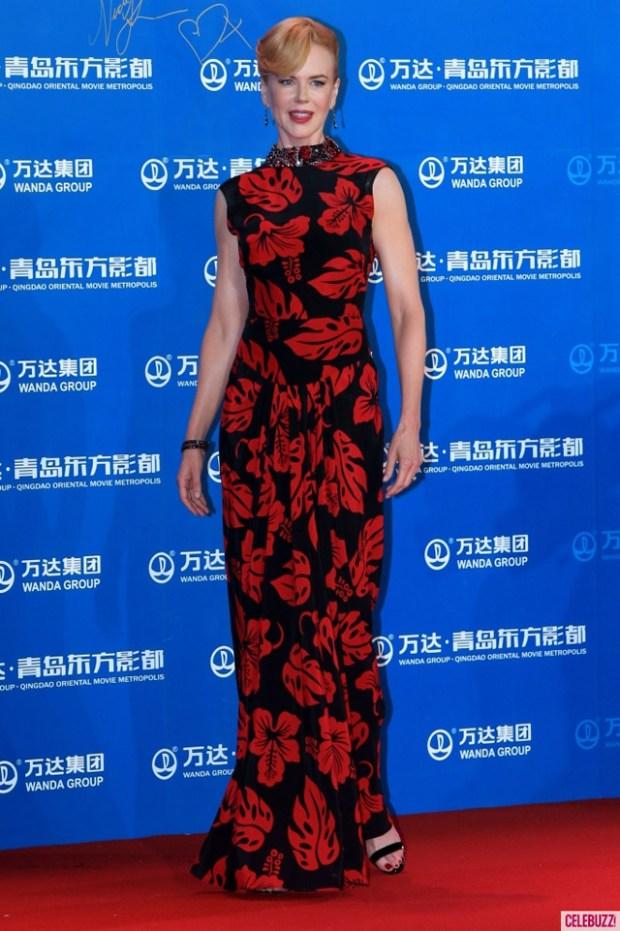 Qingdao Eastern Hollywood Nicole Kidman Gown China