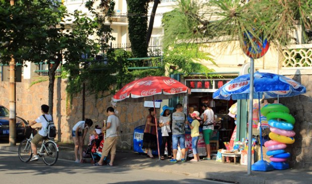 Qingdao Photos Momo Small Shop Old Town Qingdao Summer