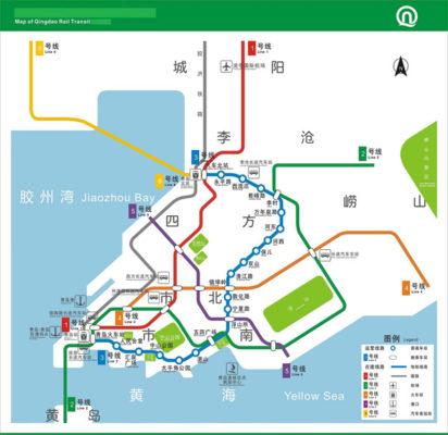 Qingdao Subway Map