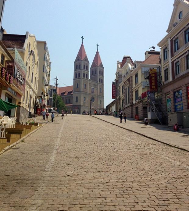 Qingdao Catholic Church 2000