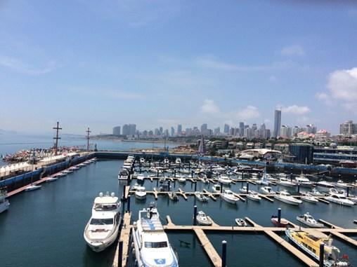 Qingdao coastal blues marina yachts