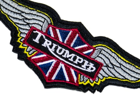 Personalized military badge Air Force triumph embroidery patch for jacket armband
