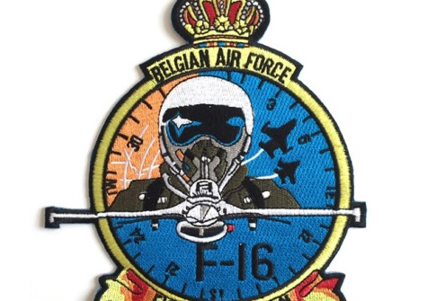 Customized Embroidered Iron on Jacket Air Force Patches