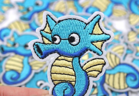 No Minimum Cheap Sew On Custom Woven Patches Sticker Embroidered Badge Patches for clothes