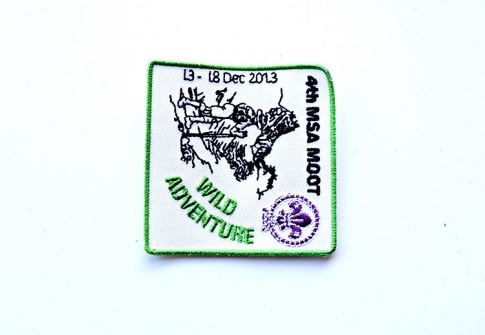 custom floral aviation embroider patches for souvenir