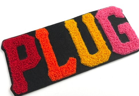 custom varsity last chenille name patches for letterman jackets