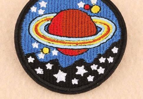 united state of america NASA space pilot space explorer style embroidery patch