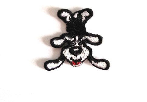 Hotsale Embroidery Patches Custom Iron on Naughty Cat /Cute Dog Patches