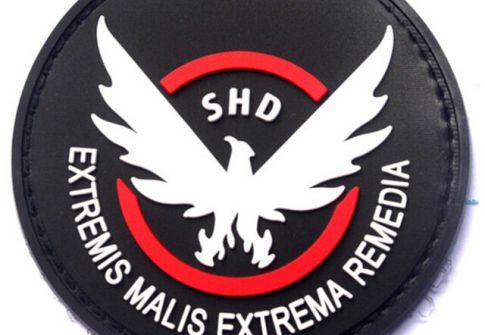 Factory custom pvc patch logo print morable patch pvc iron soft custom design 3d 2d police pvc patch