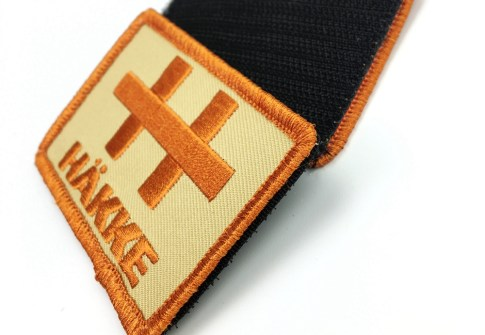 Hot sale product cheapest custom hook and loop 3D embroidery patch