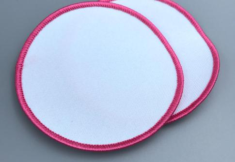 Blank Sublimation Heat Transfer Patch, Promotional Embroidery Blank Patch