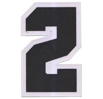 custom service number name appliques of hockey players ice hockey club logo Regiment pair Badge embroidery patch