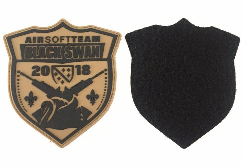 High Quality Customized 3D PVC Badge Plastic Tactical Soft Embossed Logo Rubber Silicone Patch