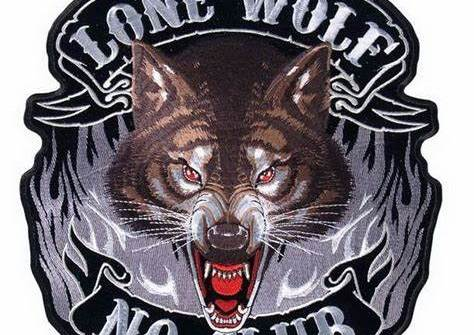High Quality Custom Embroidered Wolf Patch For Shoulder Appliques