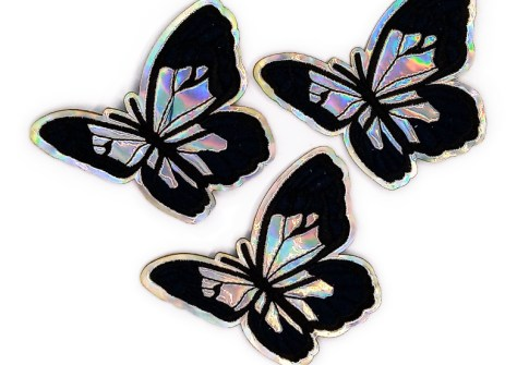 Embroidery Butterfly Sew-On Patch Sticker Badge Embroidered Fabric Appliques