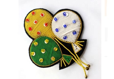 Customized Shape Twill Fabric Embroidery Patches