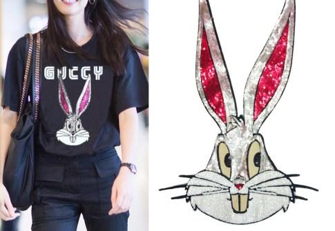Apparel Accessories Applique Patches Lace Sequins Animal Rabbit Bunny cloth Sticker
