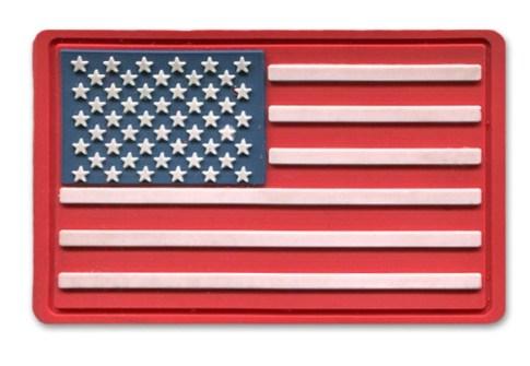 Custom soft PVC flag patch