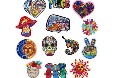 DIY Badge Applique Decoration Embroidery Patches for Jackets