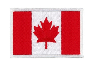 Embroidered different country flag patch embroidery patch flag