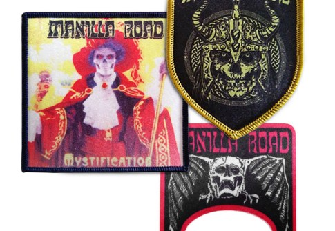 Customized sublimation printing iron on patches for jeans with merrow border