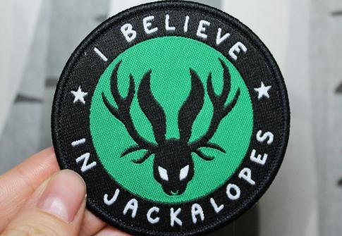Custom Woven Badge Printing Woven Patches For Clothing