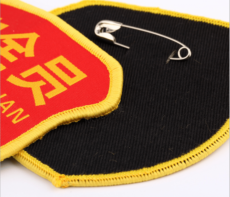 pin type patches