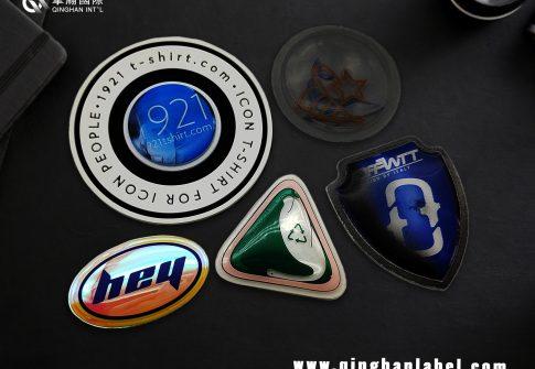 TPU decorative label