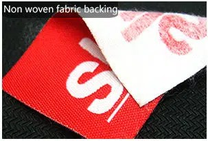Non woven fabric backing