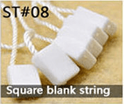 Square blank string
