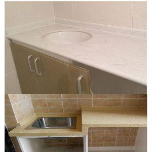 lowes sinks kitchen faucet review 石英石台面 qinyuan stone part 2 流行的台面石英顶级卫浴