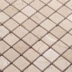 Travertine Kitchen Backsplash Granite Top Table Tile Square Mixed Glasls Chips 后挡板瓦方洞石瓷砖