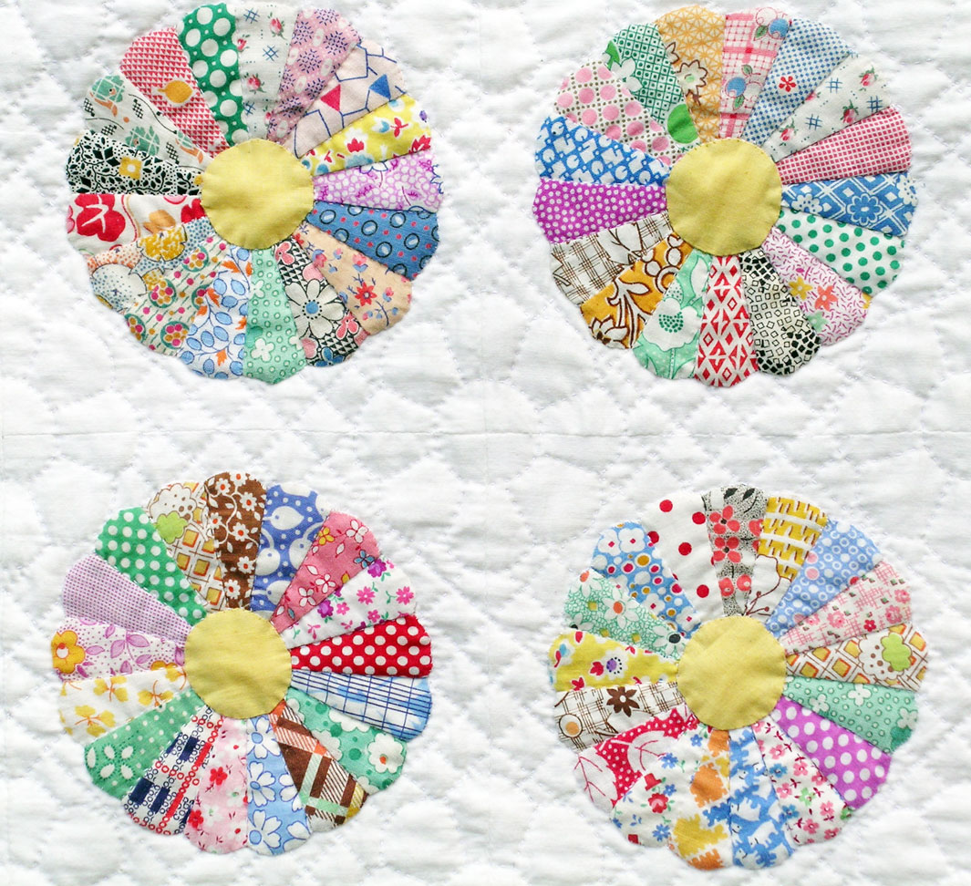 Dresden Plate Quilt Pattern Oval
