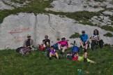 Une pause bien méritée – Jour 2 – Tour du Marguareis – Juin 2016 – Trek, Rando, Italie